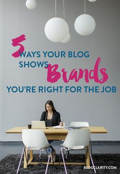 5 Ways Your Blog Sho