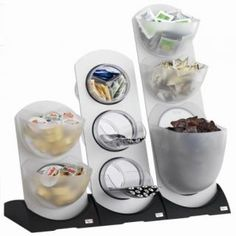 tea and coffee station organiser for sugar, sweetener sachets, stirrers, portion packs etc