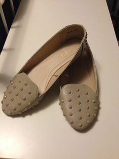 Available @ TrendTrunk.com Studded Loafer Flats . By Ardene. Only $9!