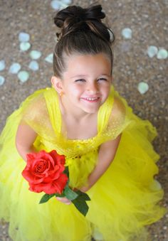 5T7T Disney Belle Inspired Tutu Beauty and by MyLilPeepsBoutique, $95.00