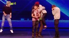 Larry Stylinson from the start (X Factor, Bootcamp) Larry Stylinson, Rebecca Ferguson, Liam Payne, Ed Sheeran, Zayn, Louis Y Harry, X Factor, Larry Shippers, I Love One Direction
