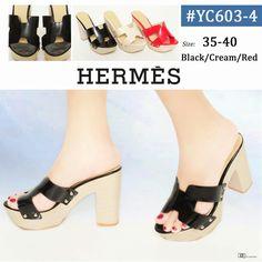 Hermes YC603-4 Heels 11cm 35-40 +Box HERMES 275rb