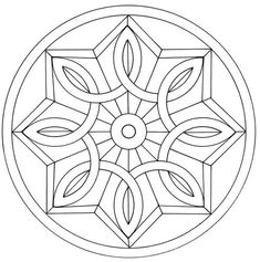 Pin by susan forsburg on crafts mandala coloring pages, mand Mandala Art, Mandalas Drawing, Mandala Coloring Pages, Mandala Pattern, Colouring Pages, Adult Coloring Pages, Coloring Books, Celtic Mandala, Stained Glass Patterns