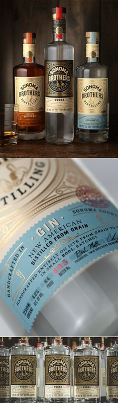This Range of Spirits Come With a Nice Old-Timey Feeling — The Dieline | Packaging & Branding Design & Innovation News