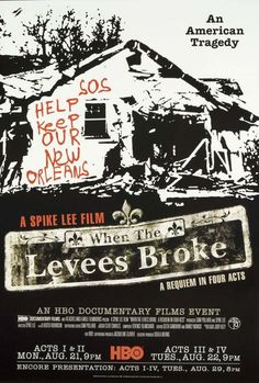 Rent When the Levees Broke: A Requiem in Four Acts on DVD and Blu-ray. Get unlimited DVD Movies & TV Shows delivered to your door with no late fees, ever. One month free trial! Movies To Watch, Good Movies, Popular Movies, Spike Lee Movies, Spike Lee Joint, When The Levee Breaks, Hbo Documentaries, Curb Your Enthusiasm, Movies Worth Watching