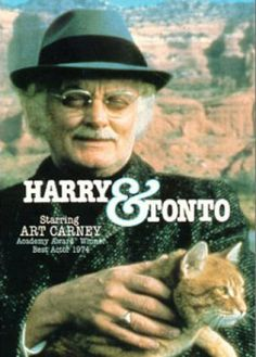 Harry and Tonto is a 1974 road movie written by Paul Mazursky and Josh Greenfeld and directed by Mazursky. Description from imgarcade.com. I searched for this on bing.com/images