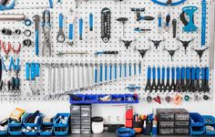 Towers and Pegboards http://www.bicycling.com/bikes-gear/lifestyle/how-to-get-your-sht-together-to-ride/slide/3
