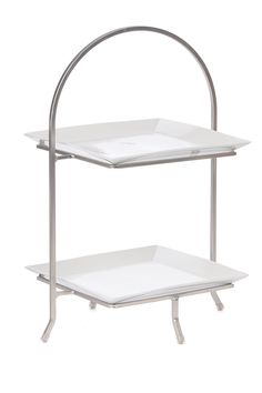 Nickel Square 2-Tier Display by SKALNY on @nordstrom_rack
