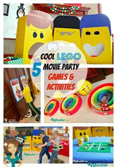 5 Cool Lego Movie Party Games & Activities