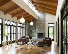 We would funk it up quite a bit, but we LOOOOVE this architecture.  Such a great pallet to work with!