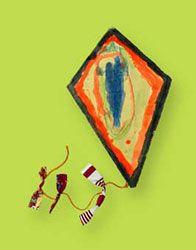great kite craft by Crayola