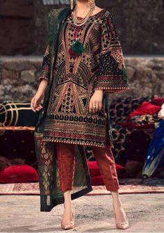 Velvet Pakistani Dress, Pakistani Dresses, Pakistani Suits Online, Suits Online Shopping, Lawn Suits, Model Pictures, Salwar Suits, Dress Brands, Kimono Top