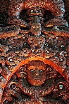 Maori Cultural Art - Te Papa Tongarewa Wellington, New Zealand Carolyn Ford Polynesian People, Polynesian Art, Polynesian Culture, New Zealand Art, New Zealand Travel, Arte Tribal, Tribal Art, Tonga, Maori People