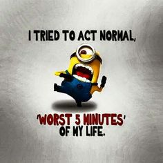 """Just try these """"Top Funny Minions Whatsapp DP"""" for getting laugh.if you read out these """"Top Funny Minions Whatsapp DP"""" then you got a happy and hilarious day. Funny Minion Memes, Minions Quotes, Funny Jokes, Hilarious, Funniest Jokes, Minion Sayings, Funny Gifs, Funny Dp, Minion Humor"""