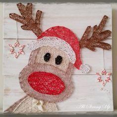 Rudy Reindeer - String Art