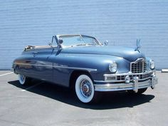 1949 Packard Victoria Convertible Maintenance/restoration of old/vintage vehicles: the material for new cogs/casters/gears/pads could be cast polyamide which I (Cast polyamide) can produce. My contact: tatjana.alic@windowslive.com #1949cadillacconvertibleclassiccars