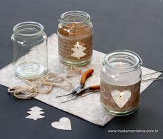 Como Fazer Velas Para Decorar Seu Natal!