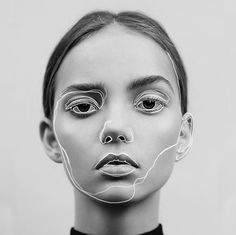 Face Value Inka Williams by Eddie New Photography Photoshop Photography, Light Photography, Creative Photography, Portrait Photography, Fashion Photography, Beauty Photography, Photography Ideas, Female Face Drawing, Woman Drawing
