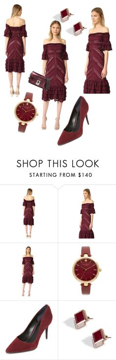 """""""From All Angles..**"""" by yagna ❤ liked on Polyvore featuring Cinq à Sept, Kate Spade, Kendall + Kylie, Monica Vinader and Karl Lagerfeld"""