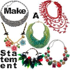Make A Statement Necklaces