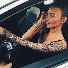 Une superbe idée de tatouage / Great tattoo idea
