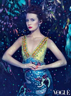 Del Kathryn Barton x Australian Vogue - The Magic of Mia