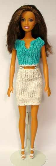 ♡ Top & Skirt - (no pattern) #