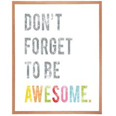 Given Goods Company | Don't Forget To Be Awesome by Fresh Words Market | The marketplace for products that give back