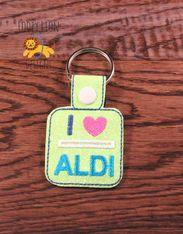 I Love Aldi Snap tab