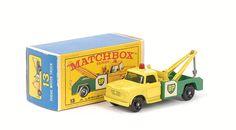 Matchbox Regular Wheels No.13d Dodge Kew Fargo Wreck Truck.