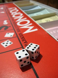 vintage monopoly game!