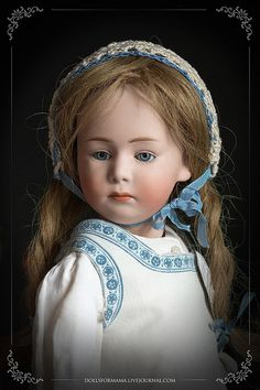 Gebruder Heubach 6969 - most dolls have eyes that are too big for the face.  This doll looks perfect to me.