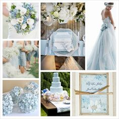 Pantone Spring 2014 Colors: Placid Blue Wedding