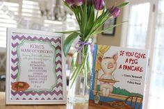 The Larson Lingo: Kate's Pancakes & Pajamas Party