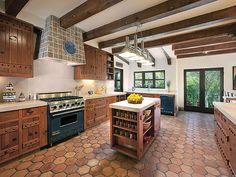 Beautiful Spanish Hacienda In Santa Barbara | iDesignArch | Interior Design, Architecture & Interior Decorating