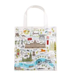 Harrods London Map Small Bag available to buy at Harrods. Shop Harrods souvenirs online and earn Rewards points.