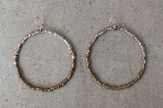Raven   Lily - Dany: Hoop (Fade-Out) Earrings, $28.00 (https://www.ravenandlily.com/dany-hoop-fade-out-earrings/)