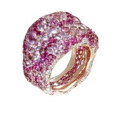 Latest additions to the Faberge Emotion ring collction