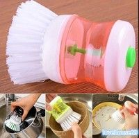 Usage: Put dishwashing liquid into the bottom, and press it. Condition: New and high quality Materi