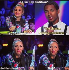 Arin ray audition :) but that means hes closer to my age mhmmmm!!