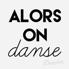On danse...
