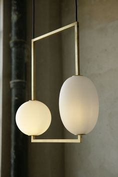 Miro Sconce is Made of Solid Brass