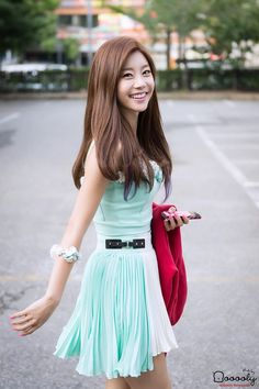 Girl's Day SoJin I LOVE this outfit of Darling <3 Sojin fighting!!! Don't take the rumors and hateing so personally!!!