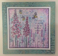 More lovely Kay Carley stamps for Paper Artsy.