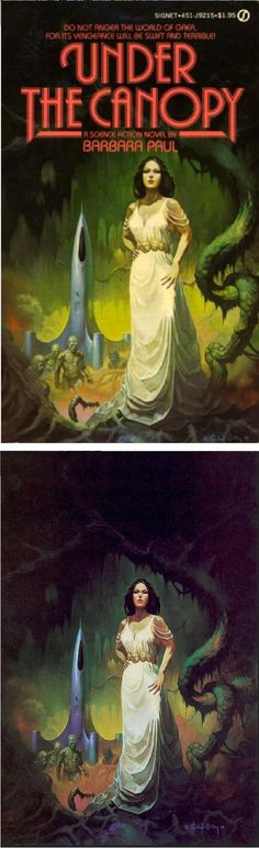 KEN KELLY - Under the Canopy by Barbara Paul - 1980 Signet Books - cover by isfdb - pin by Alfredo Natas Lazote