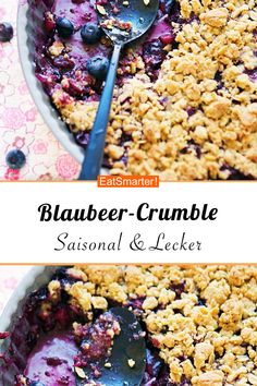 Next Post Previous Post Blueberry crumble – smarter – calories: 230 kcal – time: 25 min. Blueberry Crumble, Blueberry Crisp, Nom Nom Paleo, Paleo Meal Plan, Diet Meal Plans, Brunch Recipes, Paleo Recipes, Brownie Recipes, Gourmet