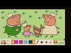 Peppa Pig Coloring Book Game