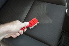 Proper maintenance of your car upholstery does not need to be expensive. You can use all natural products that you have around your house.