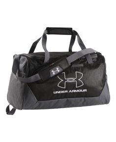 Under Armour HustleR Small Duffel Bag Black 001 One Size *** You can get more details by clicking on the image.
