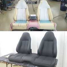 1970 Barracuda seats from scratch via @convertibleclassiccustoms / #autoupholstery #au... | Use Instagram online! Websta is the Best Instagram Web Viewer!
